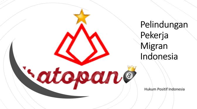 Pelindungan Pekerja Migran Indonesia