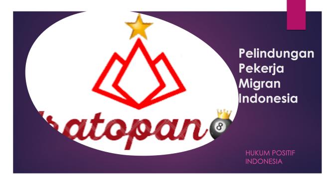 9 (Sembilan) Alasan Kepulangan Tenaga Kerja Migran Indonesia