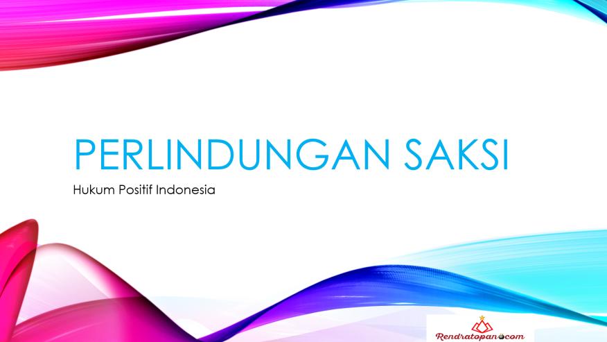 Hukum Positif Indonesia