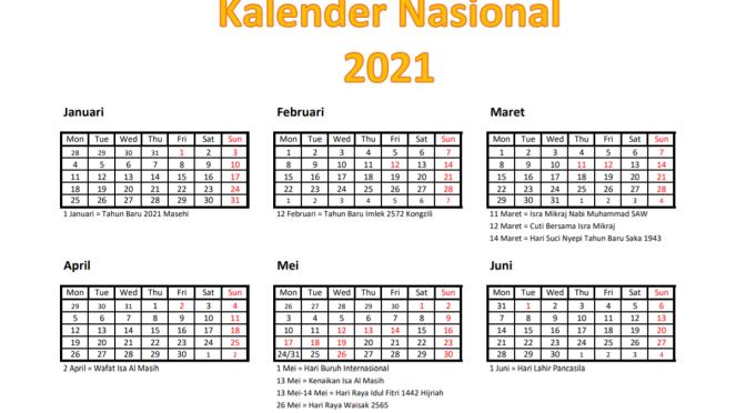 Pelaksanaan Cuti Bersama Tahun 2021 bagi Pegawai Aparatur Sipil Negara